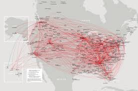 Delta Route Maps by Delta Domestic First Class Overview Point Hacks