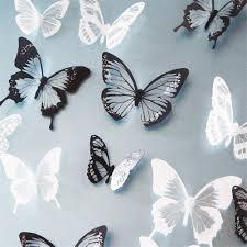 online get cheap 3d butterfly wall art aliexpress com