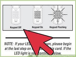 image titled reset and program genie wireless keypad remote pin step 7