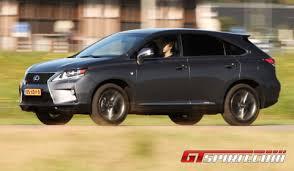 2013 lexus rx450h road test 2013 lexus rx450h f sport gtspirit