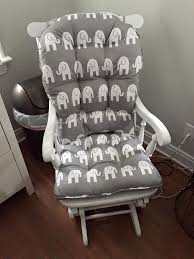 Padded Rocking Chairs For Nursery Best 25 Upholstered Rocking Chairs Ideas On Pinterest Nursery With