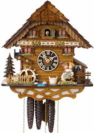 Modern Coo Coo Clock Decor Wonderful Cuckoo Clock With Floral For Unique Home