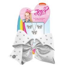 jojo earrings jojo siwa bow earrings necklace set this is it stores uk