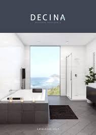 decina bath freestanding bath and shower brochures 2017 decina catalogue