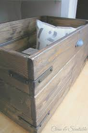 diy rustic crate tutorial such pretty and functional storage