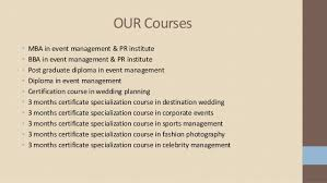 Wedding Planner Certification Event Management Institute In Delhi Iiem Delhi