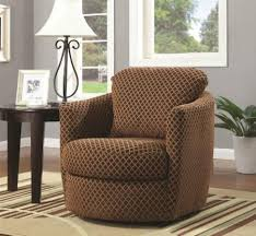 Upholstered Living Room Chairs Living Room Ideas Swivel Chair Living Room Brown Fabric