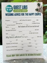 bridal mad libs mad libs guest book weddings do it yourself wedding forums