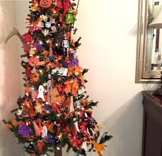 decorated halloween trees marybeth u0027s time for paper safe travels and happy halloween