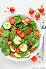 cuisine cherry cherry tomato spinach salad everyday easy eats