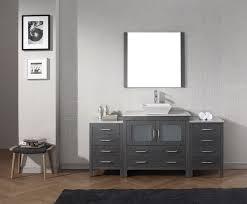 72 Inch Single Sink Bathroom Vanity by Virtu Usa 72 Inch Dior Bathroom Vanity Zebra