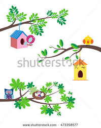 bird on tree stock images royalty free images vectors