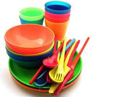 plastic utensils plastic utensils stock image image of collection service 23290977