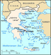 greece map political greece location