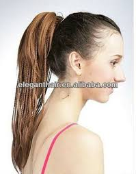 ponytail extension brown synthetic hair ponytail hair extension buy ponytail hair