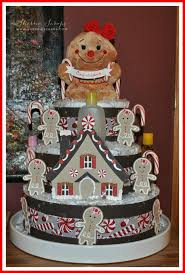 sherrie scraps with passion gingerbread diaper cake