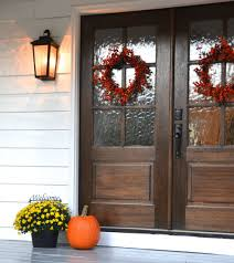Modern Farmhouse Porch by Fascinating Farmhouse Style Front Doors Pics Ideas Surripui Net