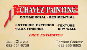 Business Cards Painting Business Cards