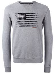 woolrich flag print sweatshirt men clothing woolrich shirts for