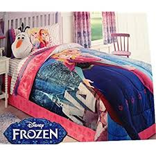 Frozen Comforter Queen Amazon Com 3d Cartoon Bedding Sets Princess Elsa U0026 Anna Queen 3