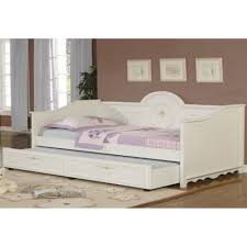 bedroom white wooden daybed with trundle 42124292220178 white