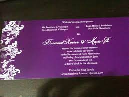 wedding invitations quezon city wedding invitation bob and marf s site