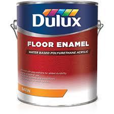 dulux water based floor enamel