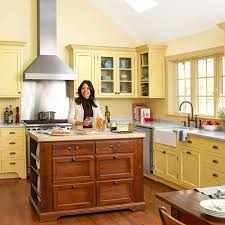 cottage kitchen islands for when it has to change to no kitchen based on building