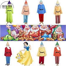Halloween Dwarf Costume Aliexpress Buy Movie Anime Snow White Dwarfs