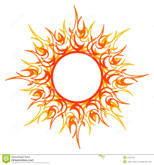 vector ornament abstract sun stock vector image 49334765