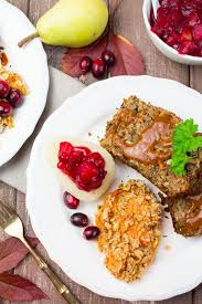 vegan thanksgiving lentil loaf vegan heaven