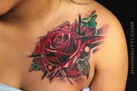 rose cover up by jhon gutti tattoos