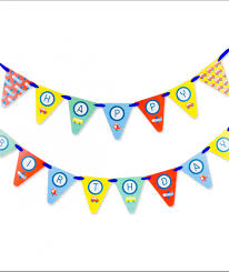 party banner the go birthday party decor kit