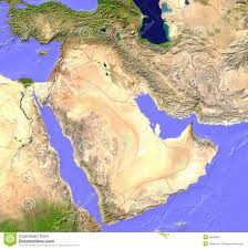 India Satellite Map by Middle East Satellite Map Stock Images Image 5662084