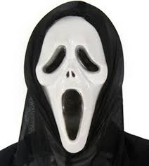 halloween mardi gras masquerade party scream scary movie ghost