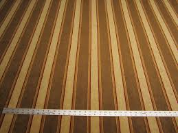 Striped Upholstery Fabric 5 8 Yards Of Chenille Stripe Upholstery Fabric