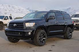 toyota sequoia lifted pics sequoia platinum luxury suv 4x4 custom lift wheels tires