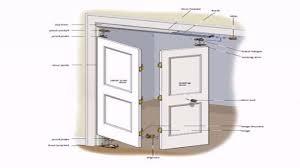 How To Replace Bifold Closet Doors How To Install Bifold Closet Doors Plan Buzzard