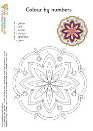 rangoli color by numbers free download for your
