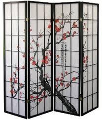 Ebay Room Divider - 1110 4 legacy decor oriental room divider screen plum blossom