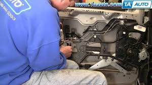 how to install replace power door lock actuator chevy venture