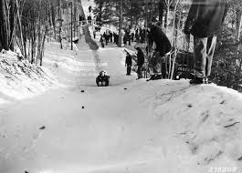 winter sports sleds and toboggans forest history society