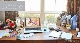 Desk Organization Ideas Desk Organization Reveal Polished Habitat
