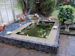 Waterfalls In Backyard Ponds by Garden Pond This Is A Formal Pond Slightly Raised With A