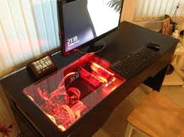 Desk With Computer Built In Pc Built Into Desk Best Computer Built Into Desk Ideas Only On New