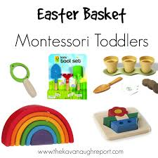 easter presents for toddlers easter baskets for montessori babies toddlers and preschoolers