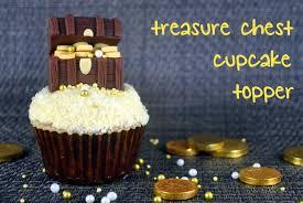 how to make fondant treasure chest cupcake topper bake happy
