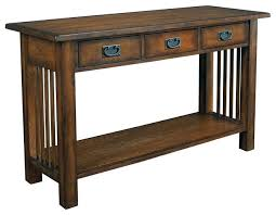 stickley kitchen island stickley arts and crafts mission style console table from within