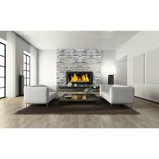 Stone Wall Tiles For Living Room Shop Desert Quartz Ledgestone Wall Tile Common 6 In X 12 In