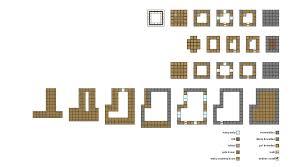 minecraft npc house blueprints home deco plans